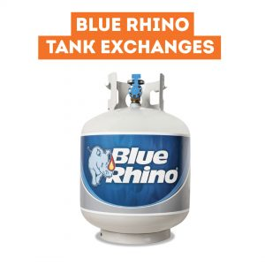 Blue Rhino Tank Exchanges