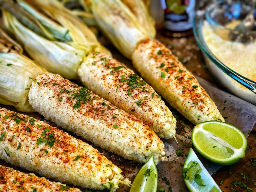 Grilled Street Corn by Matthew Eads